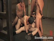 Hot kinky bdsm slave orgy - gay porn tube
