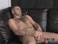 Hot gay dj showing his masculine affinities